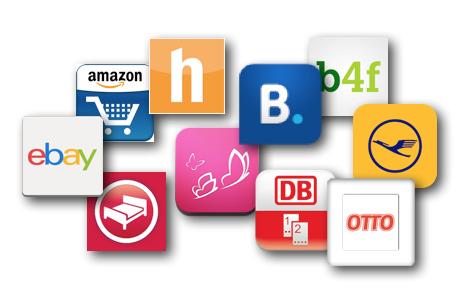 Untersuchte Präsenzen im W3B Mobile Benchmarking